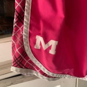 Nike Dri-Fit Tempo Shorts | Ole Miss | Pink Plaid